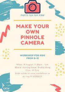 Photo Fun for Kids: Make A Pinhole Camera Workshop @ Hunting Room, Stable Wing | Celbridge | County Kildare | Ireland