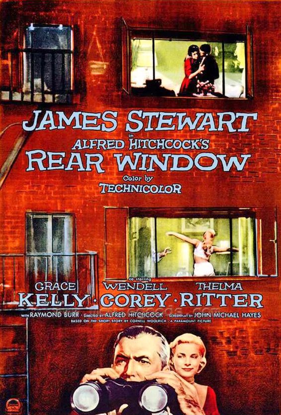 Grace Kelly on Screen: Rear Window @ Hunting Room | Celbridge | County Kildare | Ireland