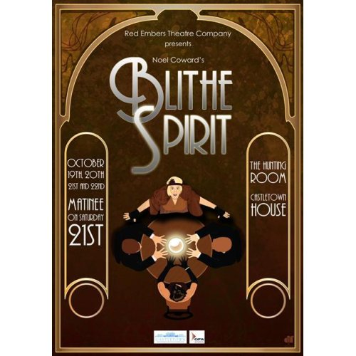 The Red Embers Theatre Present 'Blithe Spirit' by Noel Coward @ Hunting Room, Stable Wing | Celbridge | County Kildare | Ireland